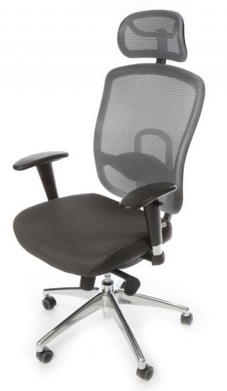 Kancelářská židle (křeslo) s područkami OKLAHOMA PDH - šedá