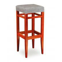 Židle barová ISABELA 373770, látka