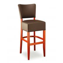 Židle barová ISABELA 363761, kůže