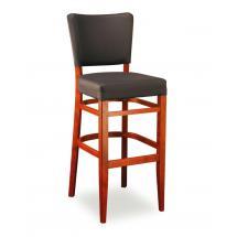 Židle barová ISABELA 363771, koženka