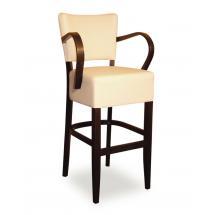 Židle barová ISABELA 343761, koženka