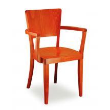 Židle JOSEFINA 321262, hladká, celodřevěná