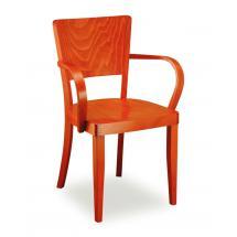 Židle JOSEFINA 321263, hladká, celodřevěná