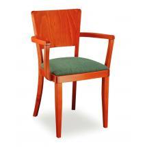 Židle JOSEFINA 323262, koženka