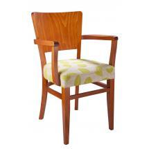 Židle JOSEFINA 323270, koženka