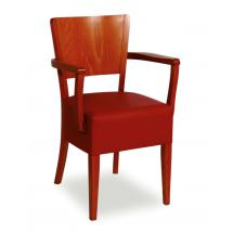 Židle JOSEFINA 323260, koženka