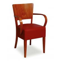 Židle JOSEFINA 323261, koženka