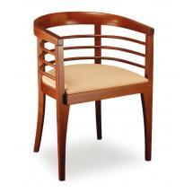 Židlové křeslo LADY BERNKOP 323054, kůže