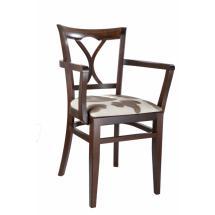 Židle LAURA 323810, koženka