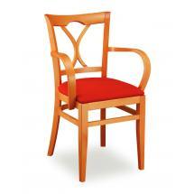 Židle LAURA 323811, koženka