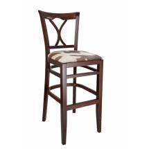Židle barová LAURA 363810, kůže