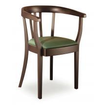 Židlové křeslo LOUISE 323430, kůže