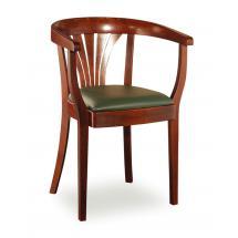 Židlové křeslo LOUISE 323431, kůže