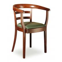 Židlové křeslo LOUISE 323432, koženka