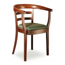 Židlové křeslo LOUISE 323432, kůže