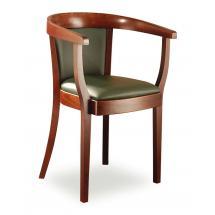 Židlové křeslo LOUISE 323433, kůže