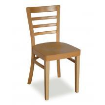 Židle NORA 311203, hladká, celodřevěná