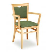 Židle SARA 323812, koženka