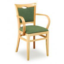 Židle SARA 323813, koženka