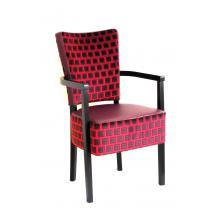 Židle SIMON 323708, koženka