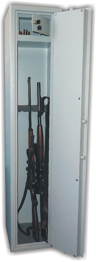 Trezor na 5 dlouhých zbraní WSA5, jednoplášťový