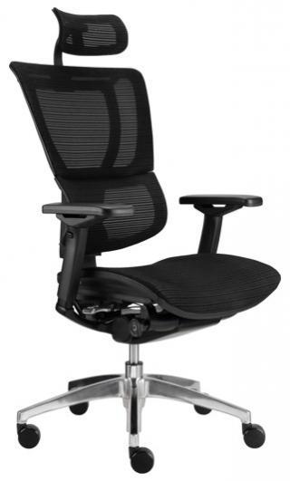 Síťovaná kancelářská židle (křeslo) s područkami JOO