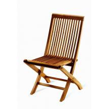 Teaková skládací zahradní židle PINA