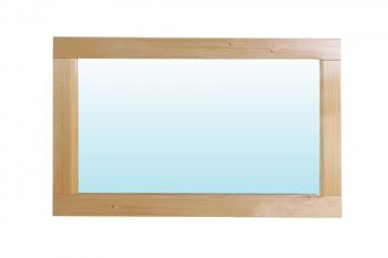 Zrcadlo smrk 85x45cm Bradop B180