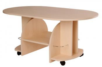 Konferenční stůl VÍT, ovál Bradop K12