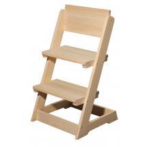 Židle dětská celodřevěná polohovací