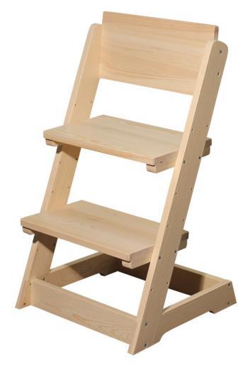 Židle dětská celodřevěná polohovací Bradop B163