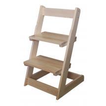 Židle dětská polohovací celodřevěná