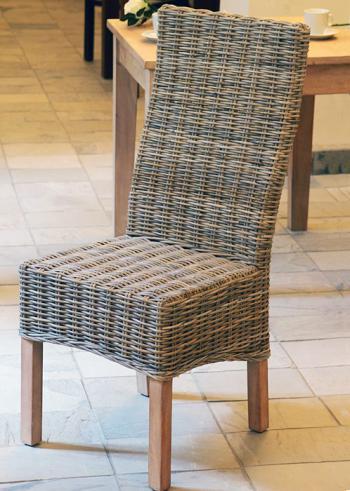 Ratanová jídelní židle, přírodní ratan Kubu HD NABYTEK A10020