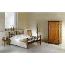 Kovová postel ALCATRAZ 200 x 160 cm