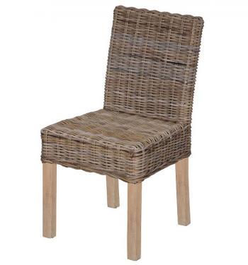 Ratanová jídelní židle, přírodní ratan kubu HD NABYTEK A10051