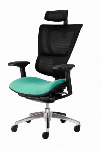 Kancelářská židle (křeslo) s područkami JOO čalouněný sedák Alba