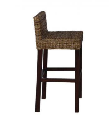 Barová židle z banánového lýka HD NABYTEK A10313