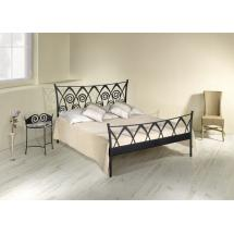 Kovová postel RONDA 200 x 180 cm
