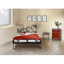 Kovová postel CARTAGENA 200 x 180 cm
