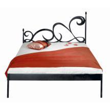 Kovová postel CARTAGENA kanape 200 x 160 cm