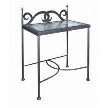 Noční stolek CARTAGENA se sklem 50 x 66 x 30 cm