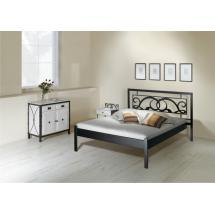 Kovová postel GRANADA kanape 200 x 160 cm