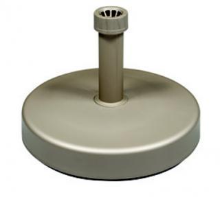 Stojan plastový plnitelný vodou, šedo-béžový, 25 litrů