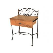 Noční stolek MALAGA, dub 53 x 69 x 36 cm