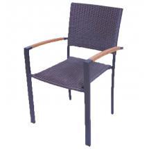 Ratanová židle - syntetický ratan