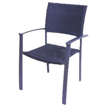 Ratanová židle - syntetický ratan HD NABYTEK A10370