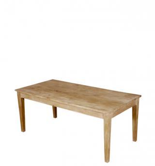 Jídelní stůl, masiv mango, 75,5x120x80cm
