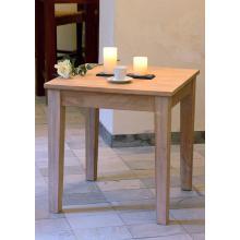 Jídelní stůl, masiv mango, 75,5x75x75cm