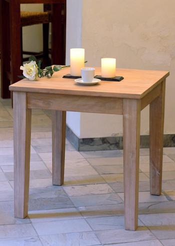 Jídelní stůl, masiv mango, 75,5x75x75cm HD NABYTEK A20015