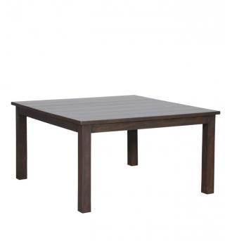 Jídelní stůl, masiv mango, 75x140x140cm
